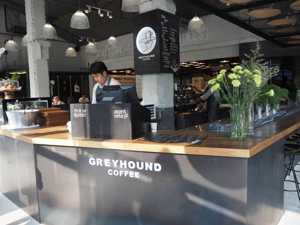 GREYHOUND COFFEE